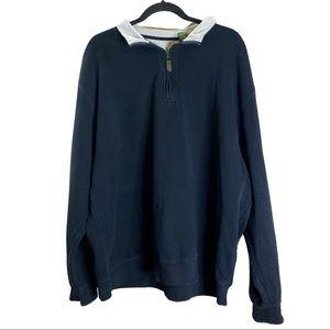 ORVIS XXL Black pullover Sweatshirt
